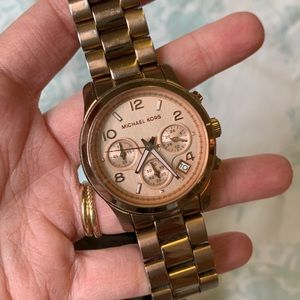 Michael Kors Rose Gold Runway Watch MK5128
